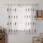 cortinas para ventana grande de cocina