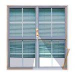 ventana de aluminio 1 x 1.20