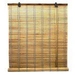 ventana de madera tipo persiana