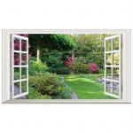 ventana falsa jardin