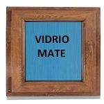 ventana de madera practicable