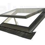 ventana tejado plano