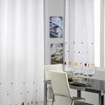 cortinas para puerta y ventana de cocina